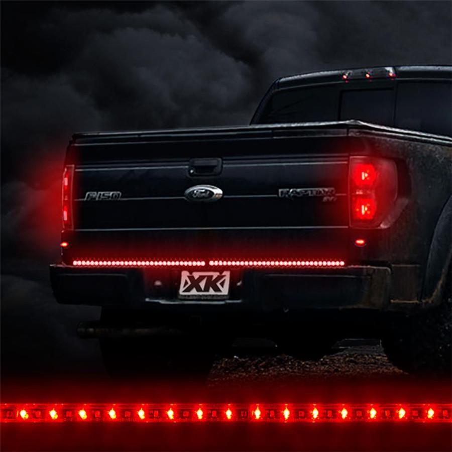 "48/"" Trunk Tailgate 3 Colors LED Light Bar For Reverse Brake Turn Signal Tail"
