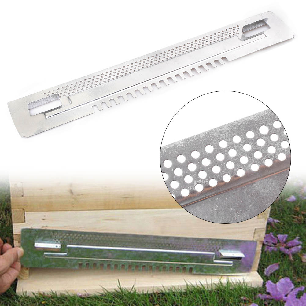 Bee Hive Mouse Guard Beekeeping Sliding Travel Gates Zinc Plated Beekeeping tool