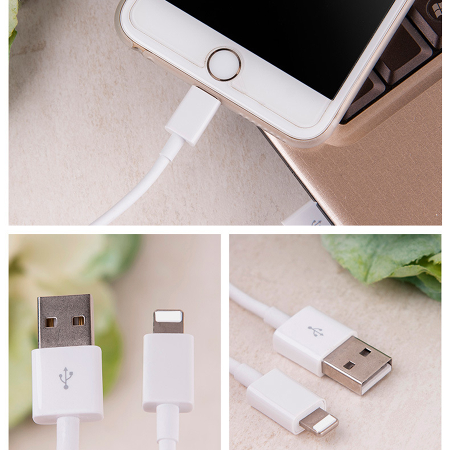 067791e1b49 Product Description. 8Pin Lightning USB Charging Cable Charger&Date For Apple  iPhone 5 7 6 Plus 8 X