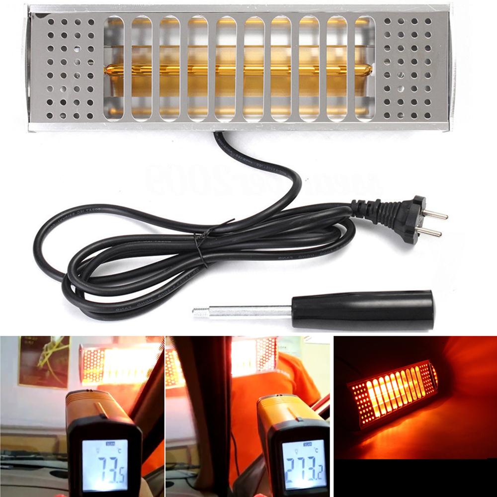 tragbar 220v 1kw infrarot lacktrockner w rmelampe werkzeug. Black Bedroom Furniture Sets. Home Design Ideas