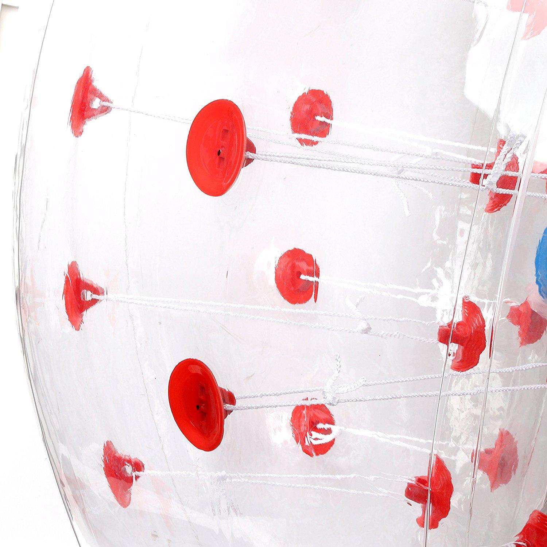 Fitness & Jogging Yaekoo Pvc Transparent 5 Feet 1.5M Diameter Inflatable Bumper Ball Human Knocker