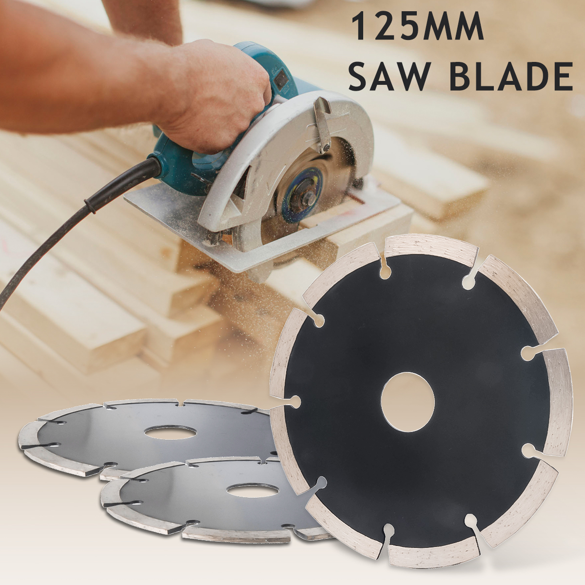 Details about 125mm Disc Circular Saw Blade For Marble Granite Concrete And  Other Stone Cut UK