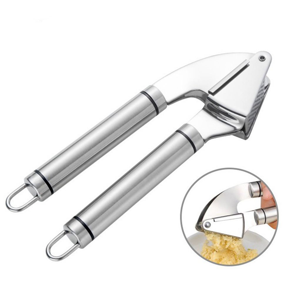 New Handheld Stainless Steel Ginger and Garlic Crush|Peel Mincer Tool