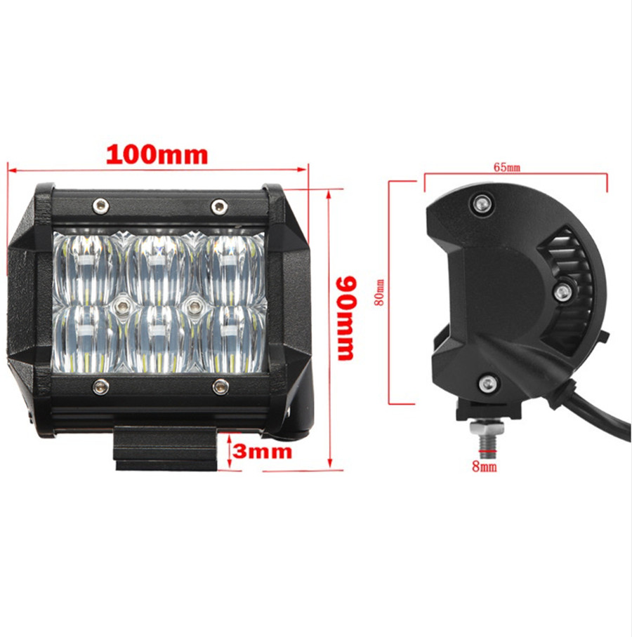 1x 30w led zusatzscheinwerfer lampe ip68 f r jeep offroad. Black Bedroom Furniture Sets. Home Design Ideas