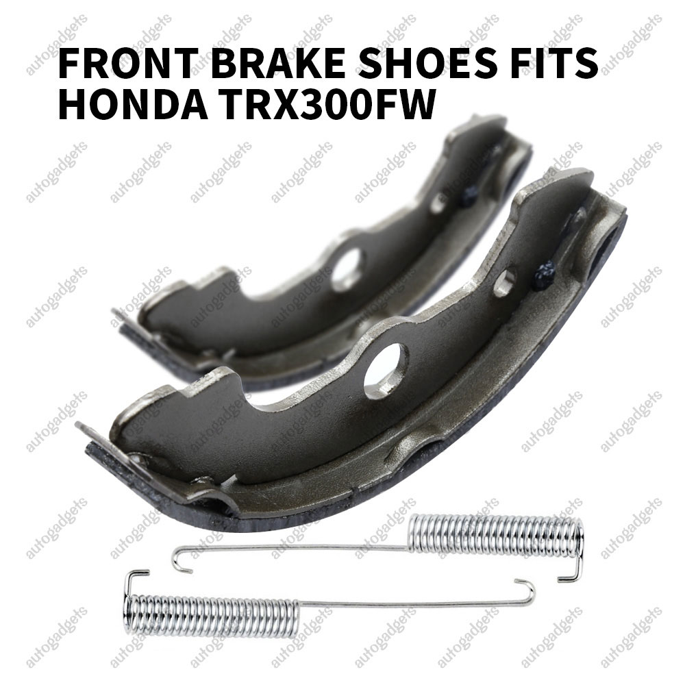 Only 4X4 Front Brake Shoes for Honda TRX300FW Fourtrax 300 4X4 1988 1990-2000