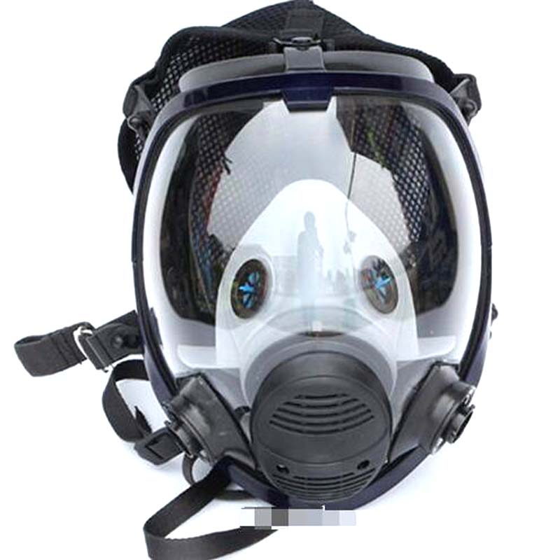 7in1 Spray Painting Fogging Face Piece Respirator For 3m