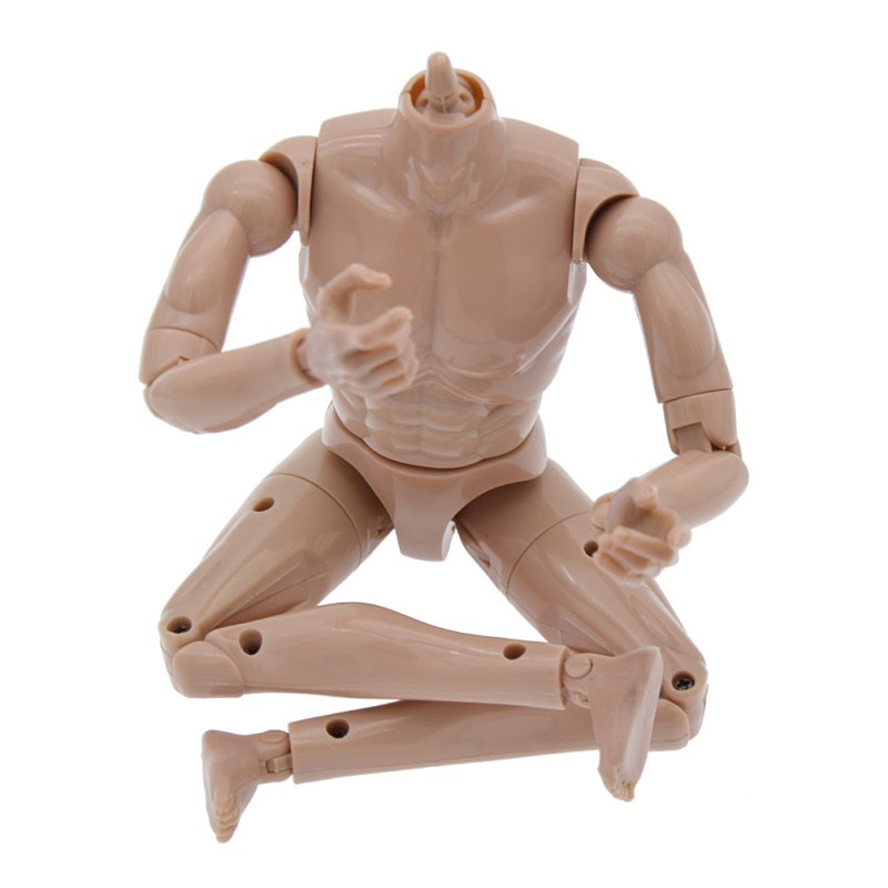 1/6th Action Figure Muscular Muscle Male Nude Body for Hot