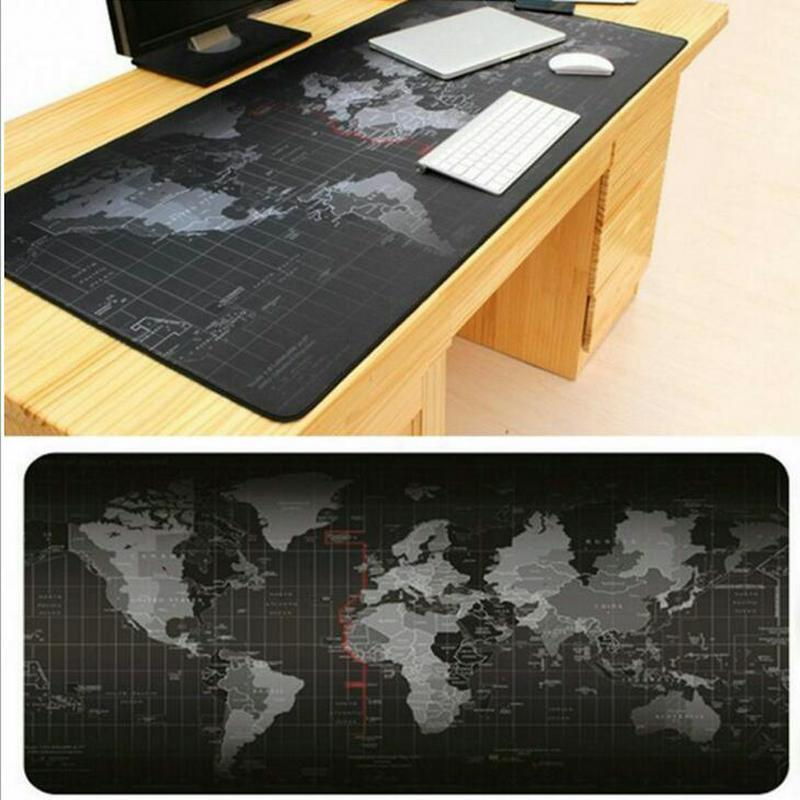 Fabulous Details About Large World Map Game Mouse Mats Pad Laptop Computer Keyboard Office Desk Pad Uk Beutiful Home Inspiration Ommitmahrainfo