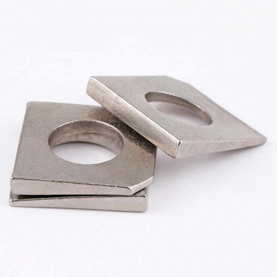 M30 Details about  /304 A2 Stainless Steel Square Bevel Washers Beam Flange Wedge Washers M6