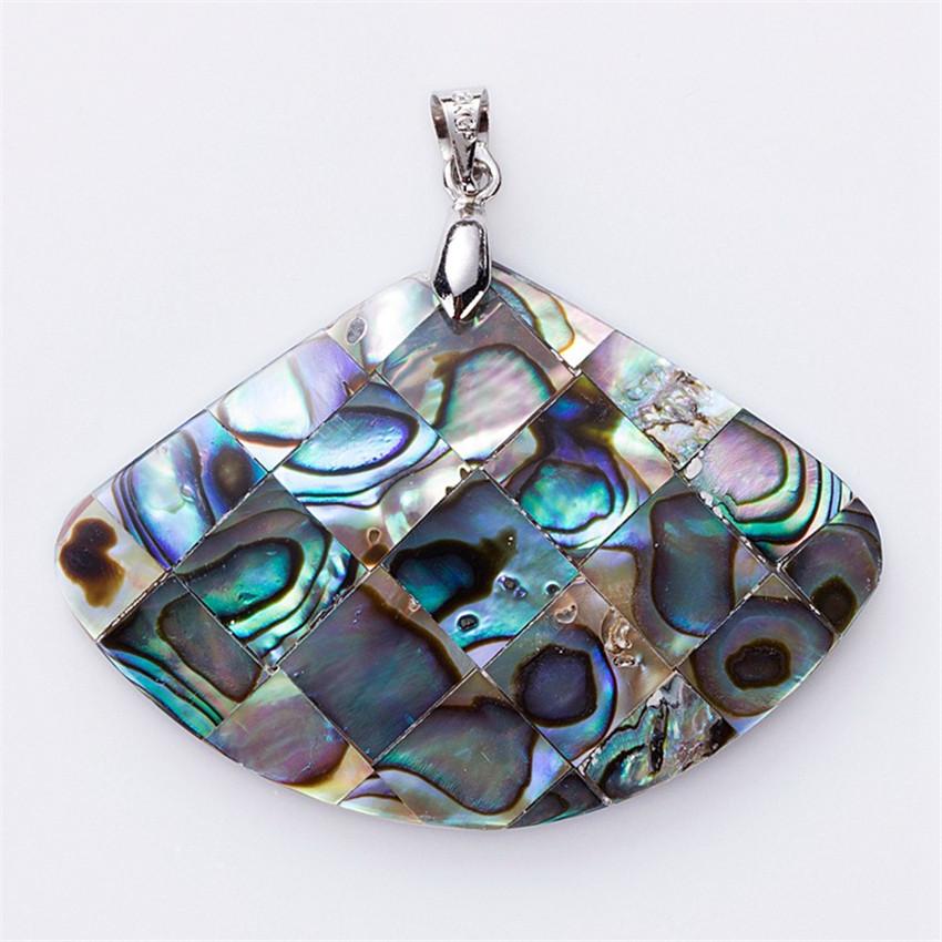 Kwan Yin Rhodonite Gemstone Pendant Hand Carved Stone Necklace