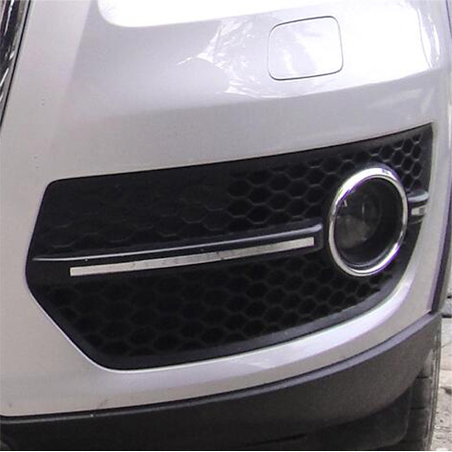Front Bumper Fog Light Grill Left & Right Grille Replacement