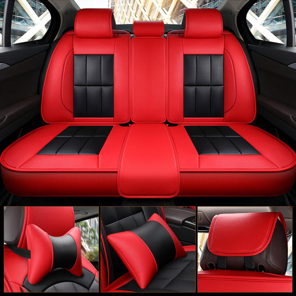 Sitzbezüge Schonbezüge SET QQ Peugeot Boxer Kunstleder schwarz
