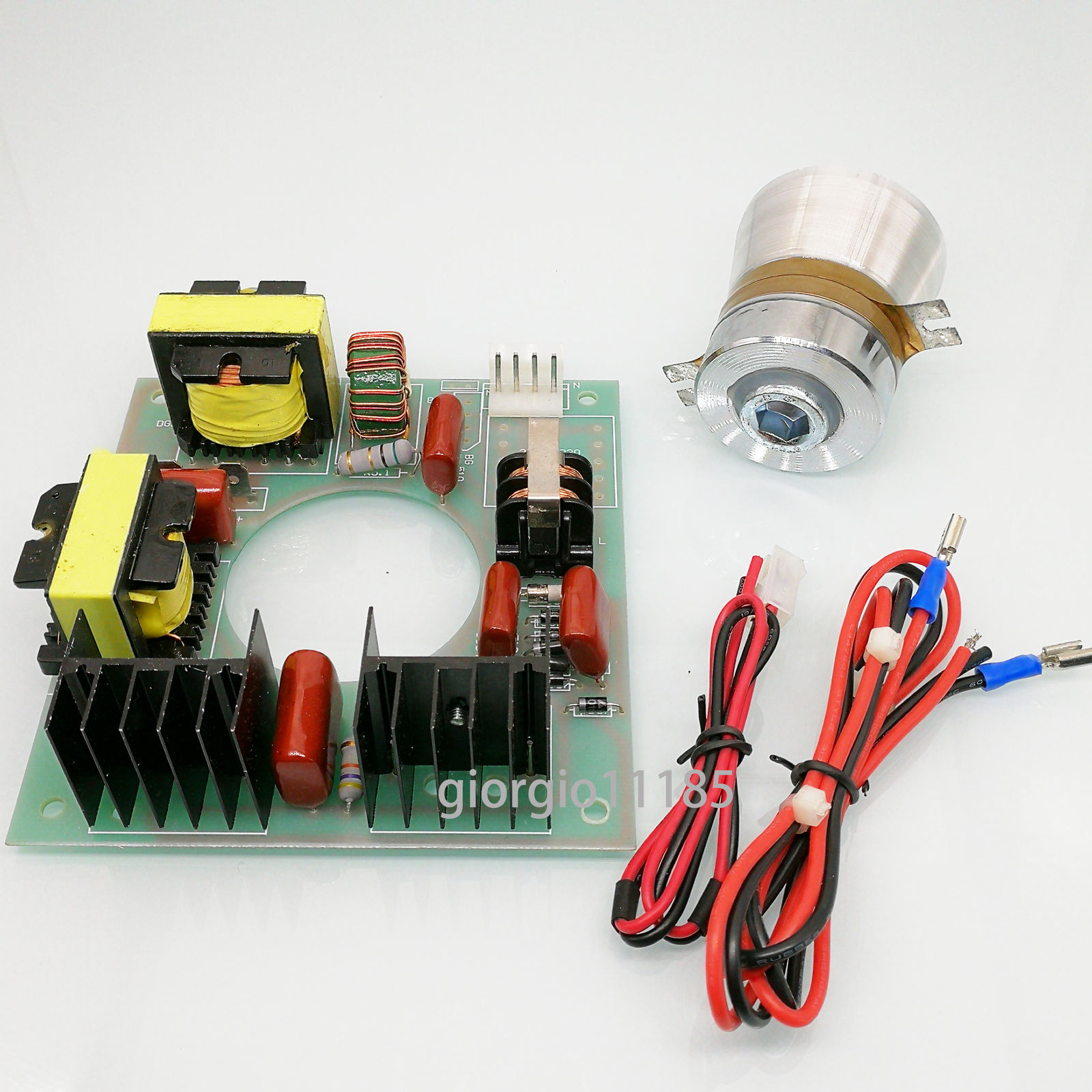 Us Stock 110vac 60w 40khz Ultrasonic Cleaning Transducer Cleaner Transmitter Circuit 1 X Power Driver Board