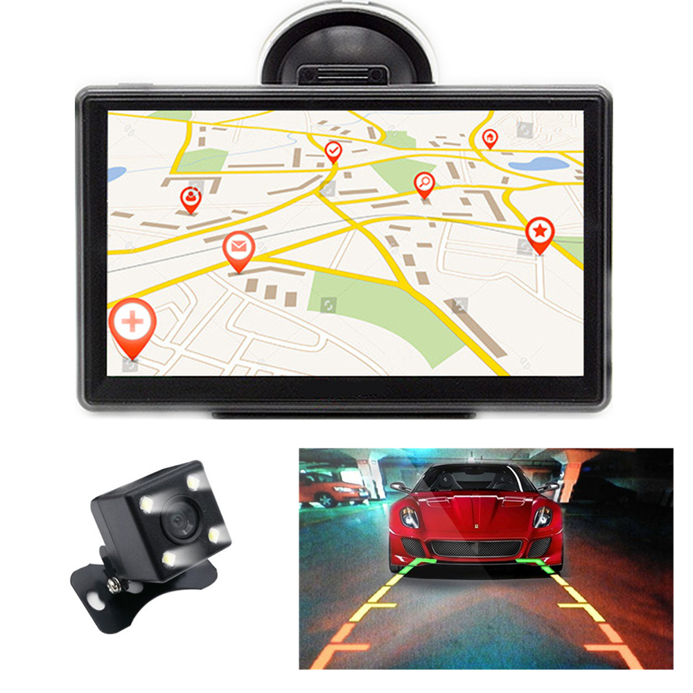 7 hd bluetooth auto gps navigation fm radio. Black Bedroom Furniture Sets. Home Design Ideas