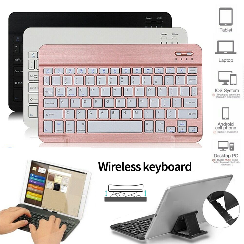 Details about Ultra Slim Wireless Keyboard Keypad For IOS Android Tablet  7