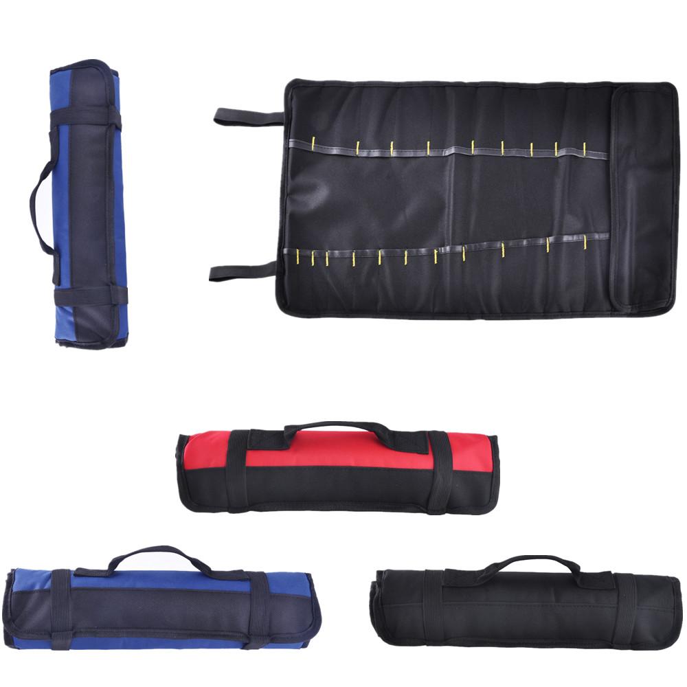 socket holder for tool bag tools pouch bag pocket mechanic wrench ratchet socket roll up holder carrying ebay