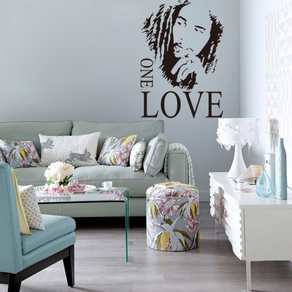 Removable decal room wall sticker bob marley super star mural removable decal room wall sticker bob marley super star mural vinyl art decor amipublicfo Images