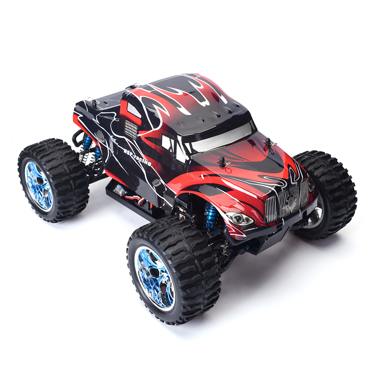 Rc Car 1 10 Scale Model Off Road Brushless Monster Truck
