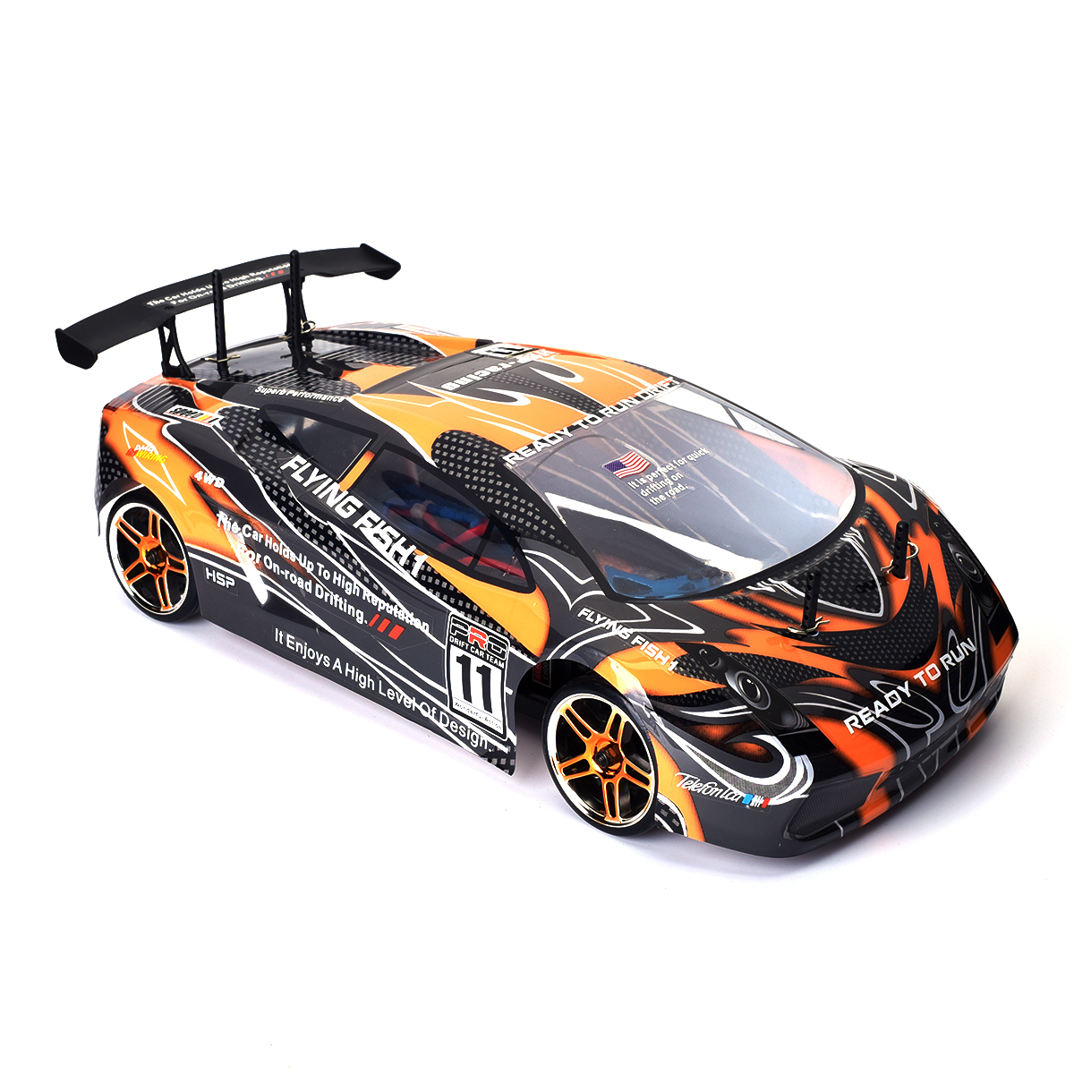 hsp 1 10 ferngesteuertes auto onroad rc drift car 2 4ghz 4wd b rstenlosen motor ebay. Black Bedroom Furniture Sets. Home Design Ideas