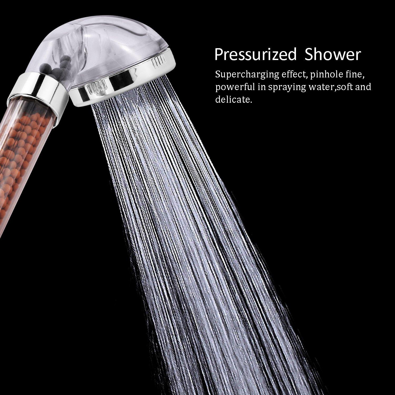 New High Pressure Boosting Water Bath Shower Head Health Filter ...