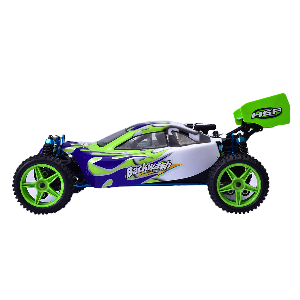 94166 HSP 1/10 Scale Racing Gas Power 4wd Rc Car Toy Two
