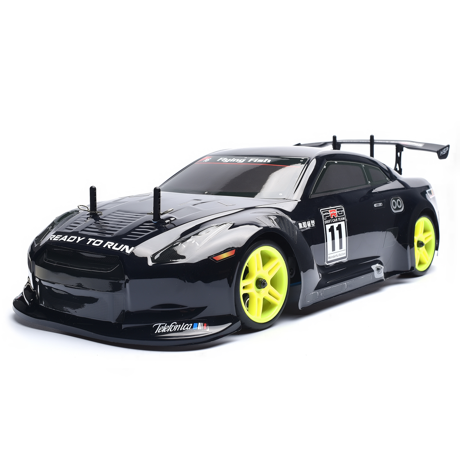 HSP 1:10 Scale Models Gas 4wd Rc Car High Speed Off Road