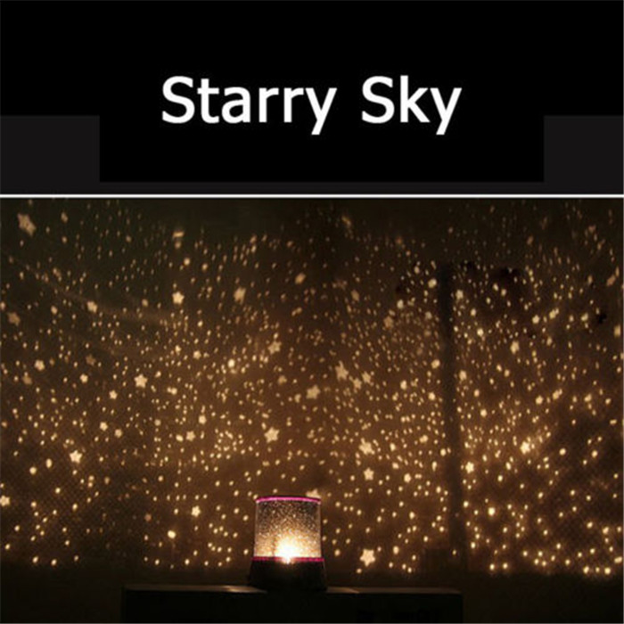Rotating Projector Starry Night Lamp Star Sky Led Night