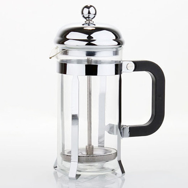 Gold French Press Coffee Maker : Stainless Steel French Press Coffee Maker Glass French Filter POT Gold Silver eBay