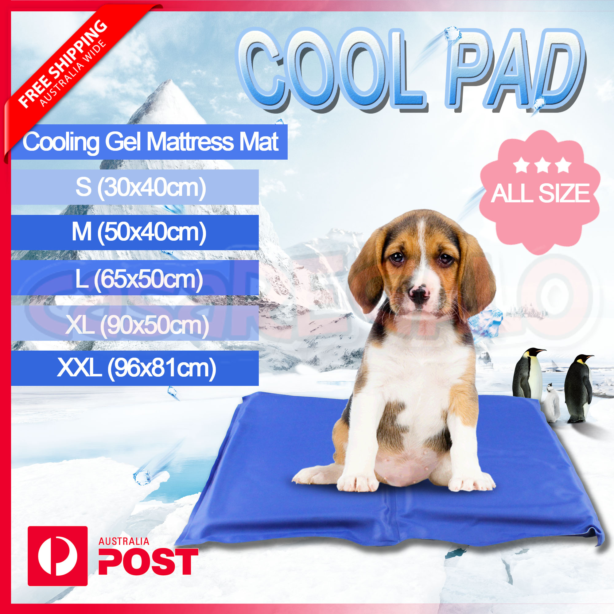 collapsible ice gel with blue bowl non dogs for cm pets calm mats cool keeps x cooling prevent travel cats dp dog pet your large toxic mat