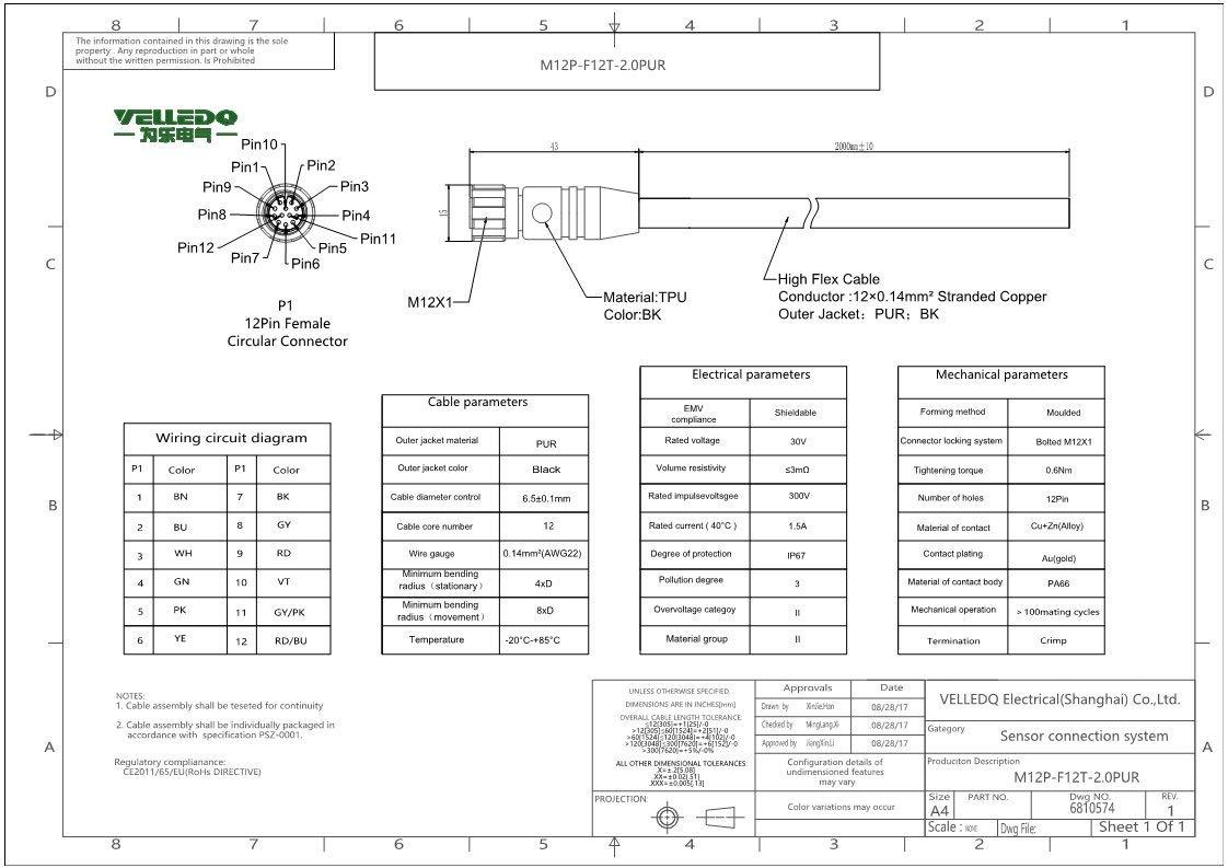Female M12 12 Pin Wiring Diagram Wiring Diagram Forward