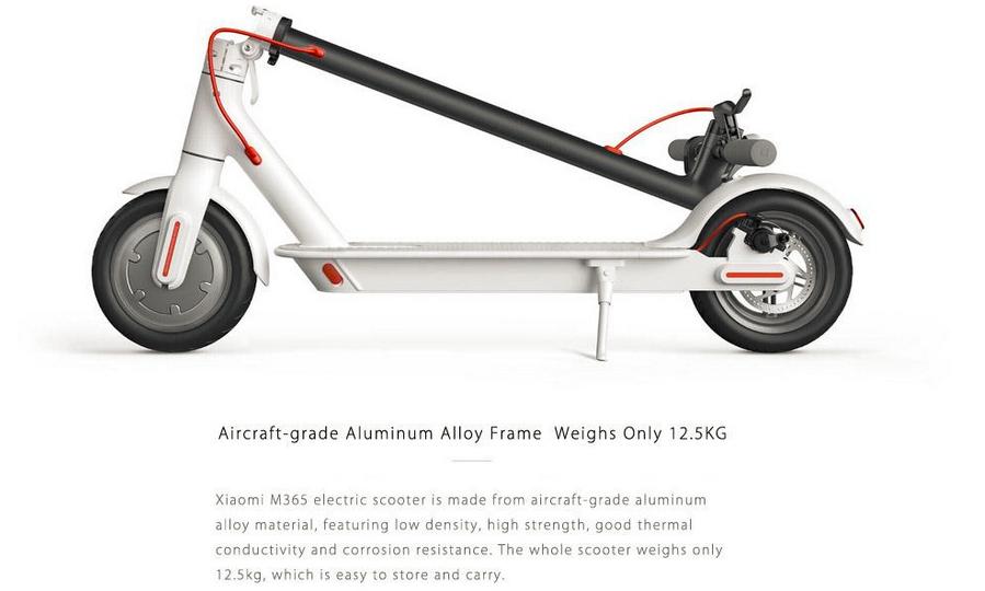 original xiaomi mi m365 e roller scooter eu version no. Black Bedroom Furniture Sets. Home Design Ideas