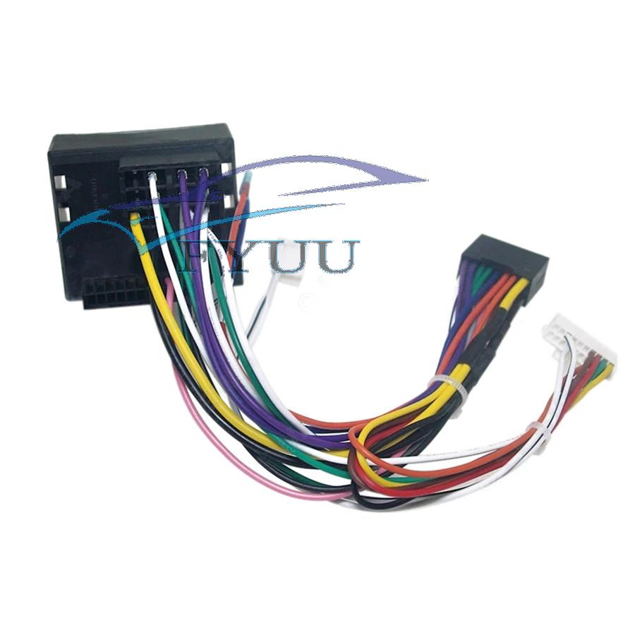 For Ford Focus Mondeo Stereo 16 Pin Android Power Wiring Harness Cable  Adapter | eBay | Ford Factory Radio Wiring Harness 16 Pin |  | eBay
