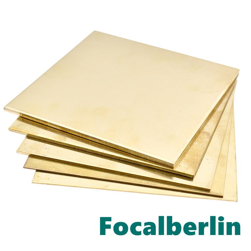Messingplatte Messingblech Quadrat Basteln 100 x 100mm Zubehör Handarbeit