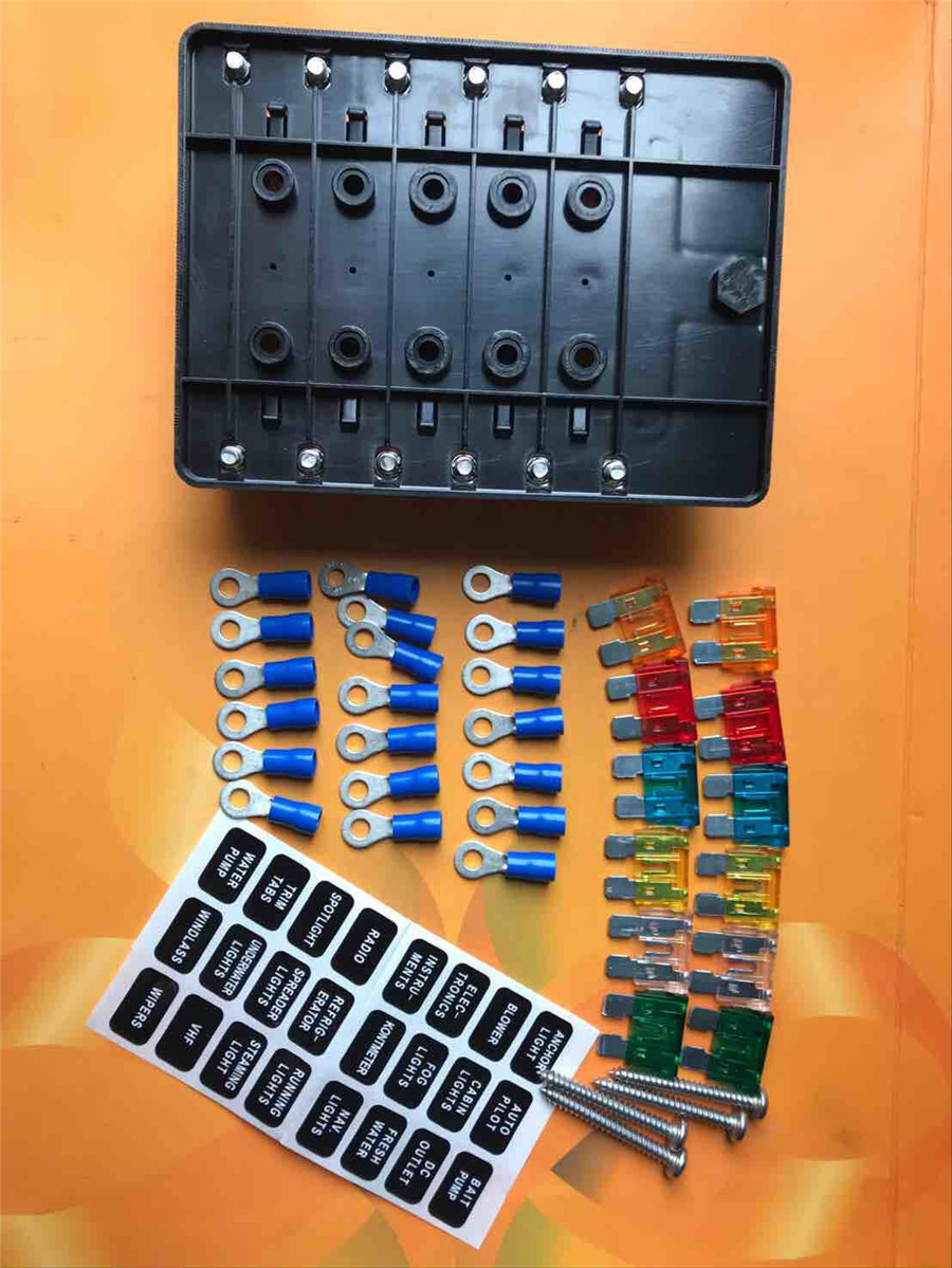 Fuse Box For Kit Cabins Electrical Wiring Diagrams Mini Cooper Cabin Waterpoof 12way Blades Block Holder Terminals Small Log Homes Plans