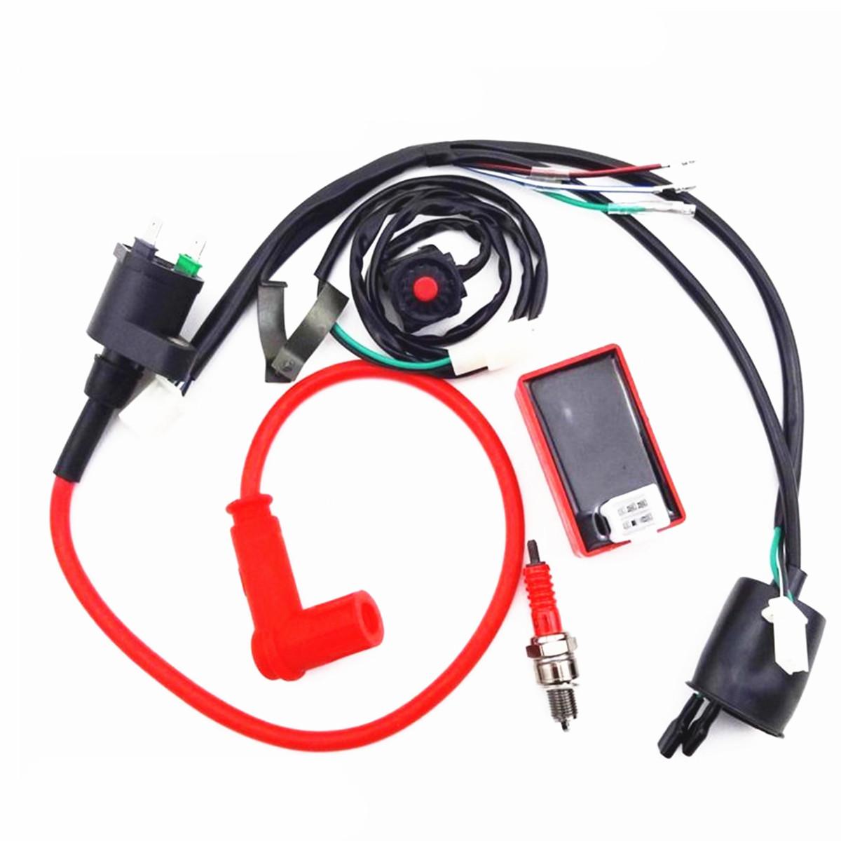 pit bike wiring harness 90 110 125 140 150cc dirt pit bike wiring harness kill switch  90 110 125 140 150cc dirt pit bike