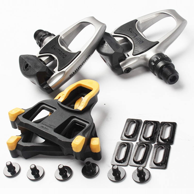 c1e2c5f1f28 Road Bike Shimano PD R540 SPD SL Lock Pedal Clipless Pedals With ...