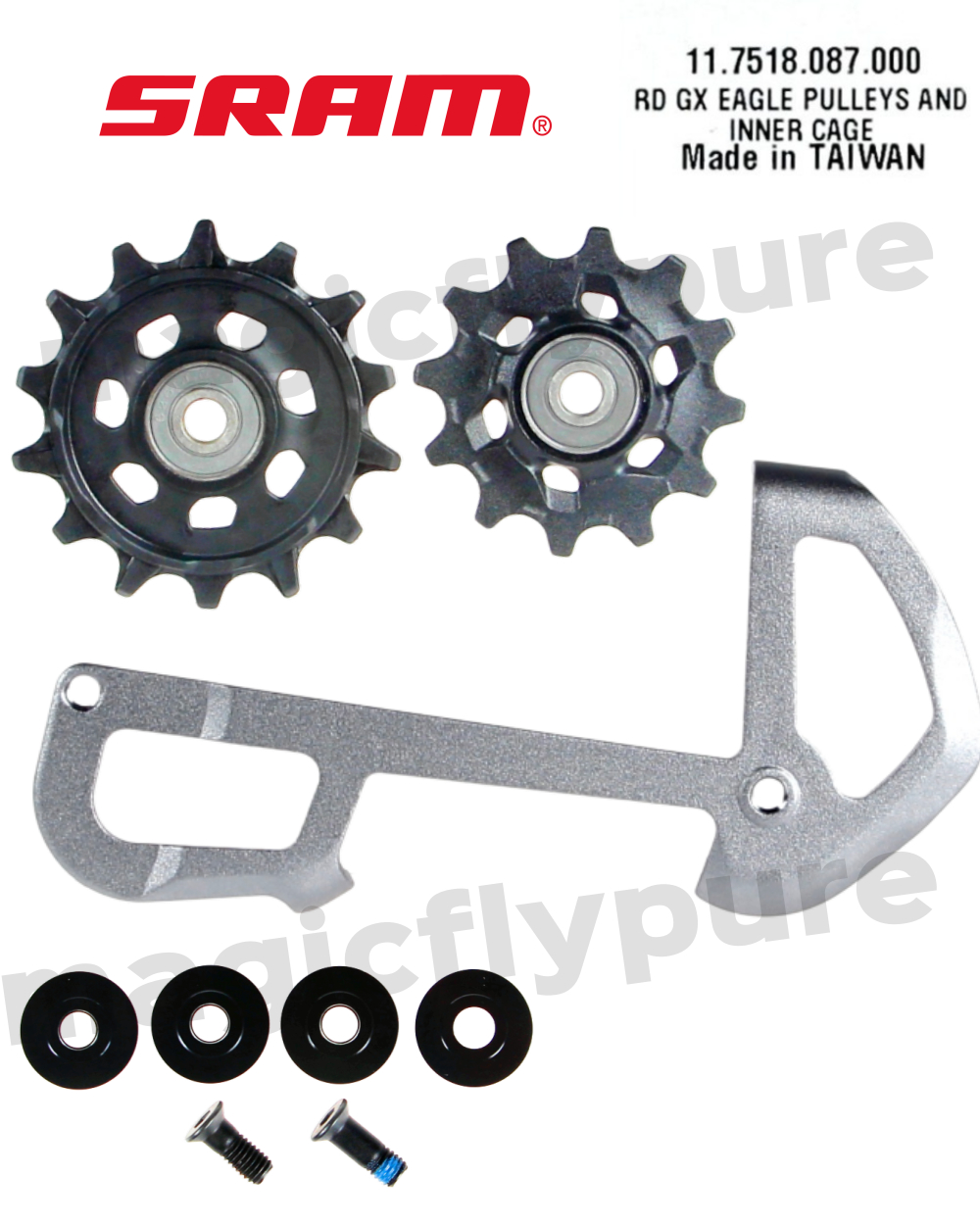 SRAM GX Eagle Rear Derailleur Inner Cage with X-Sync Pulleys