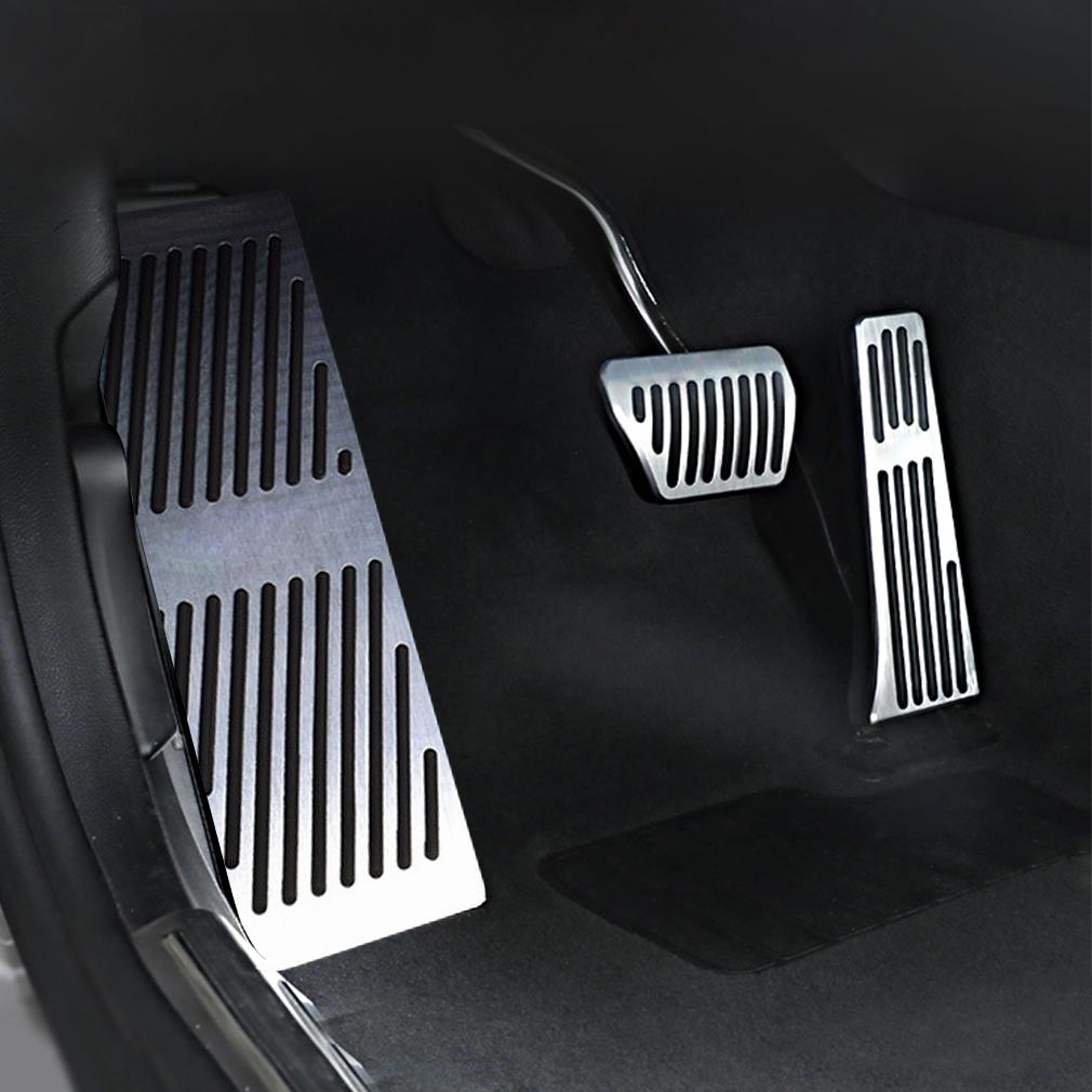 Balck No drill Fuel Brake Pedal Cover For BMW 3 5 Series E90 E91 E92 E93 F10 F11