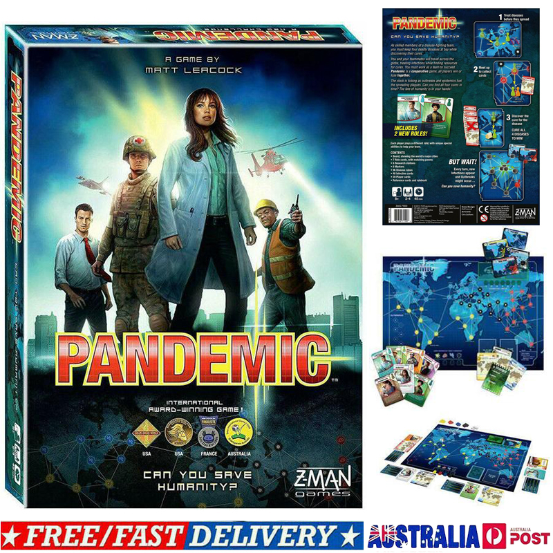 The Cure Pandemic Z-Man Free Shipping!