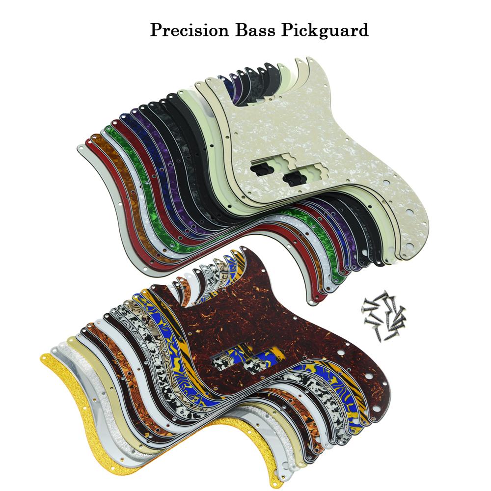 USA Spec Precision Bass P Bass Schlagbrett Scrach Plate 3Ply verschiedene Farben