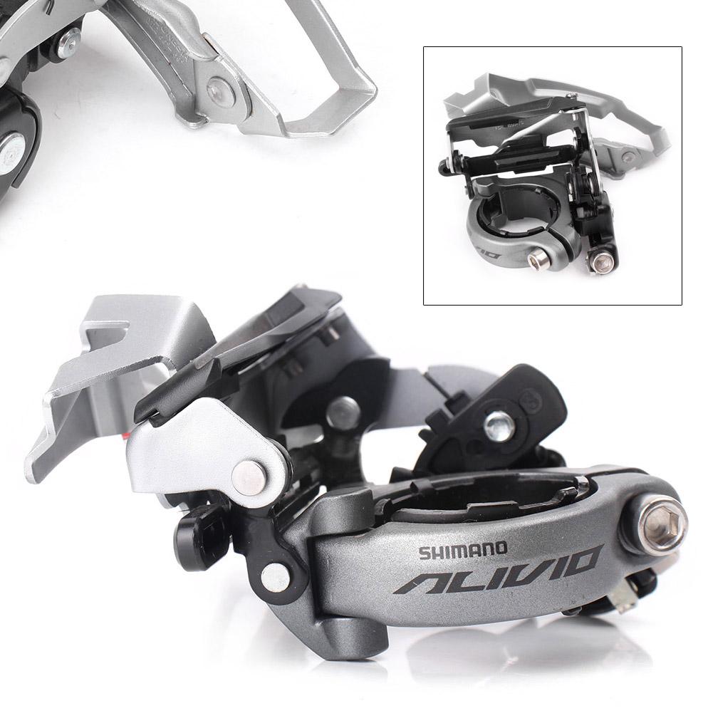 SHIMANO ALTUS FD-M310 1pc Front Derailleur 31.8//34.9mm for MTB Bike Triple