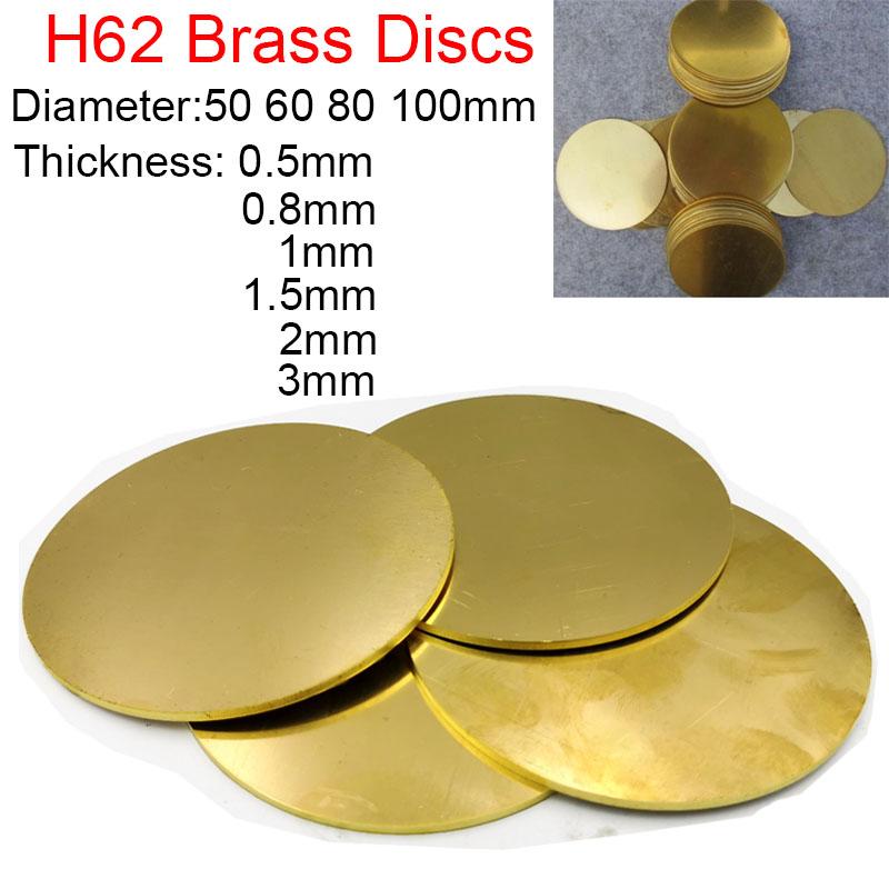Brass Half Ball Diameter Ø 40mm thickness 2,5mm Raw