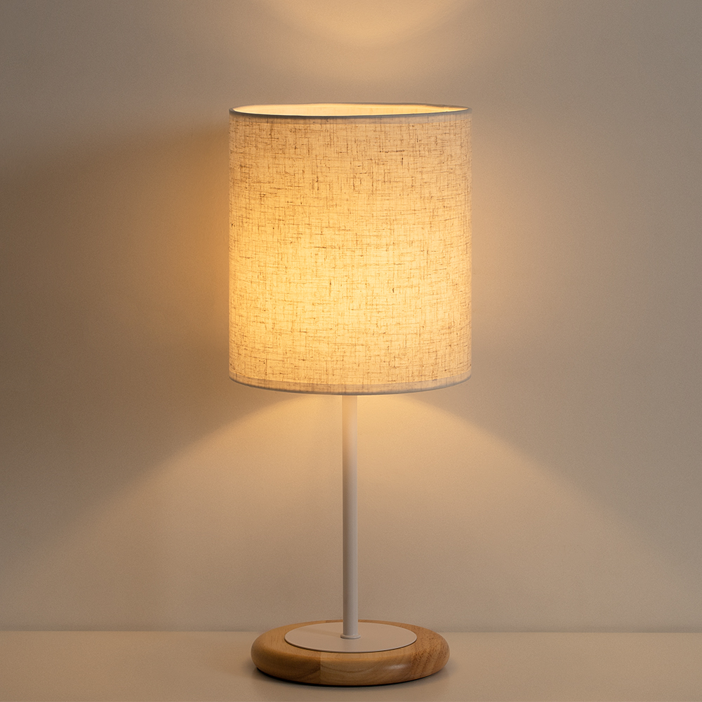 Bedside Table lamp-Basket Cage Style Square Desk Lamp Nightstand Light