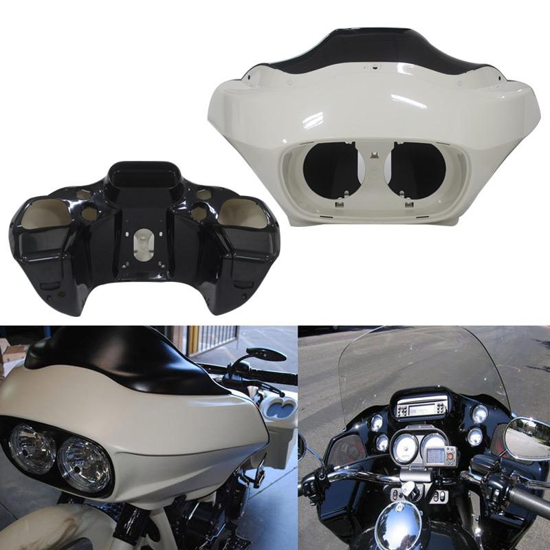 Inner Outer Fairing Fits For Harley Davidson Road Glide FLTR 1998-2013 Unpainted