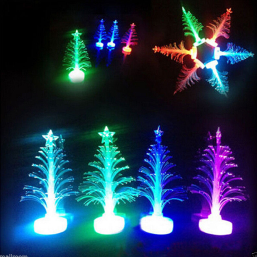 Details about Color Changing Christmas Xmas Tree LED Light Lamp Home Party  Decoration Mini
