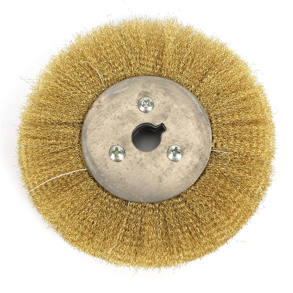 Astonishing Details About 150Mm Soft Brass Wire Wheel Pure Copper Brush For Bench Grinder Metal Polishing Customarchery Wood Chair Design Ideas Customarcherynet