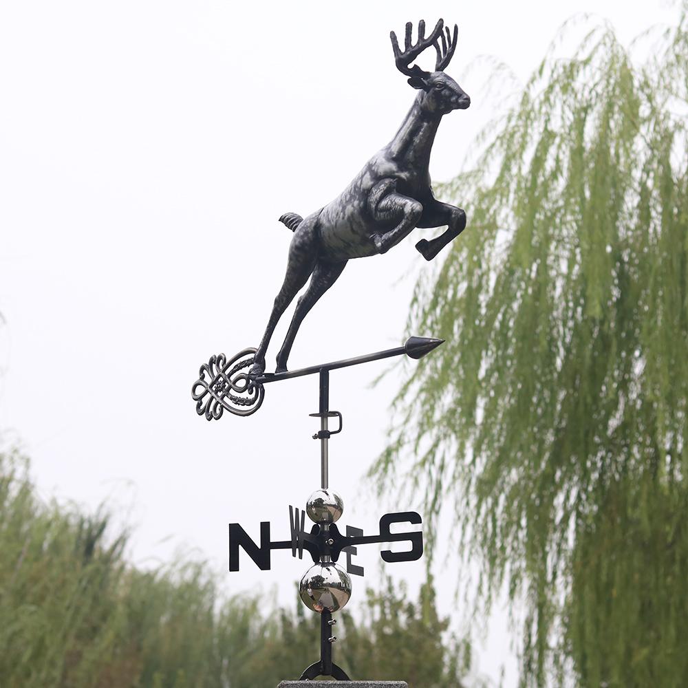 Deer Weathervane Roof Mounting Included