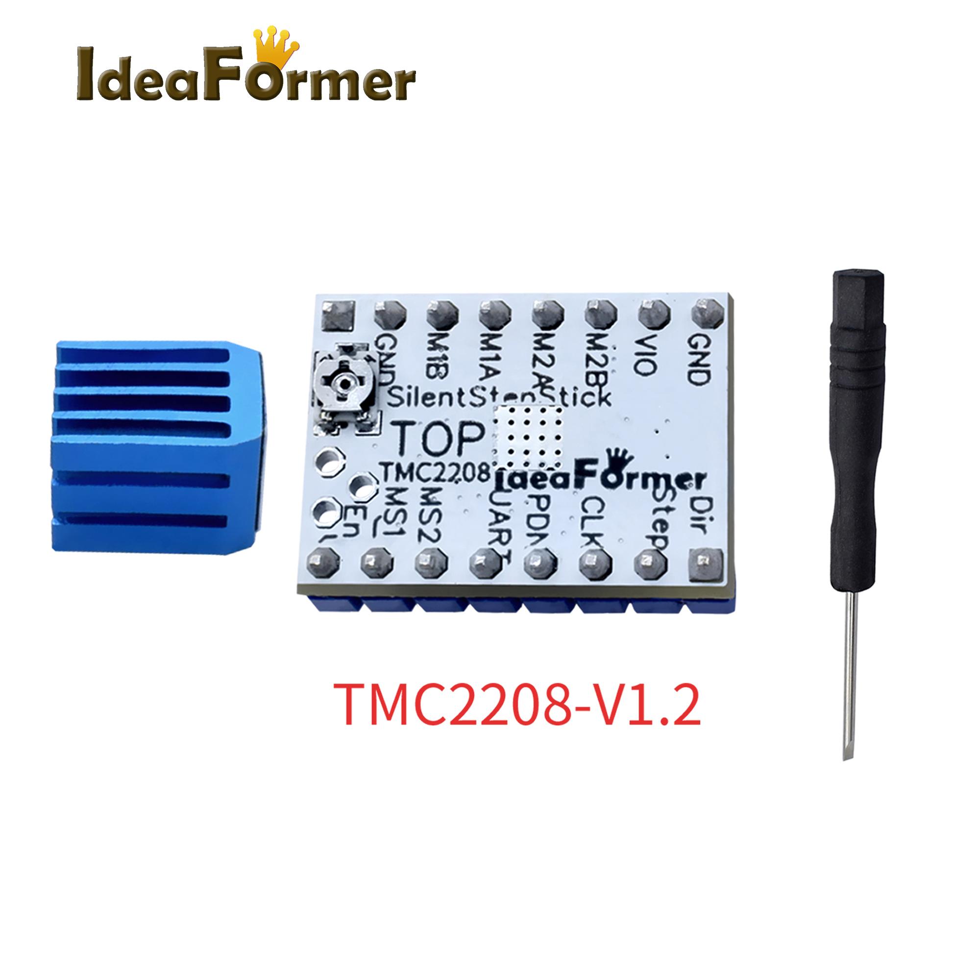 4 PCS 3D Printer TMC2130 V1.1//TMC2208 V1.2//TMC2130V1.2 SPI Stepper Motor Driver