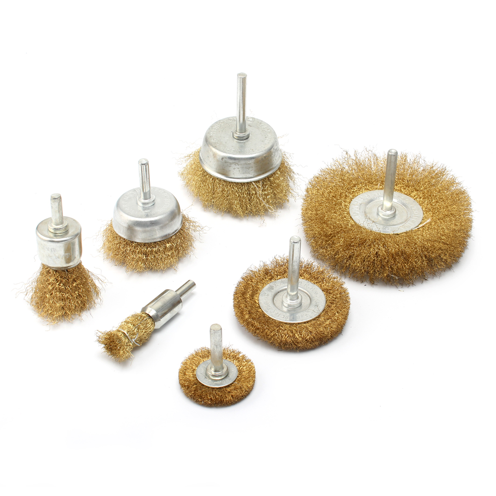 Sorted  Drill Wire Wheel /& Cup Brush kit