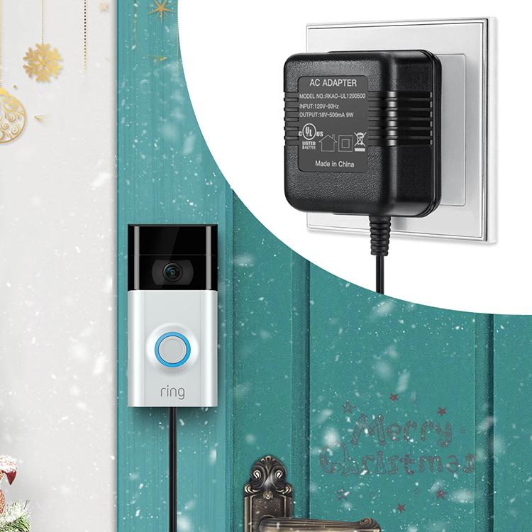 Power Supply Adapter Transformer for Ring Video Ring Video Doorbell ...